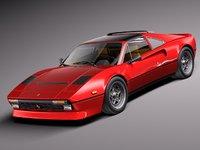 3d model classic sport 1975 1984