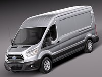 Ford Transit Medium Van 2014