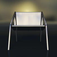 arachnide chair 3d max