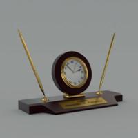 desk clock 3d model