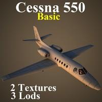 cessna 550 basic max