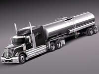 International Lonestar 2014 Tanker Truck