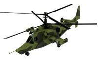 3d kamov ka-50 model