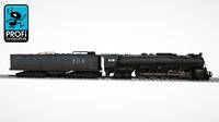 3dsmax steam locomotive lk 09