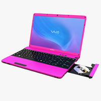 Laptop Sony VAIO E Series Pink