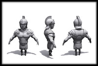 Gladiator chibi Rome Roman Greek