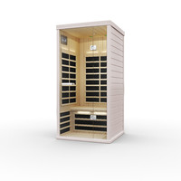3d model of infrared sauna