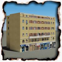 3d building 104