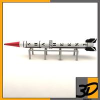 ballistic shaheen 3d model