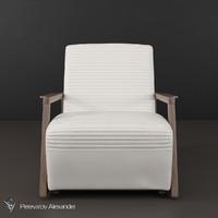 chair berenice besana 3d max