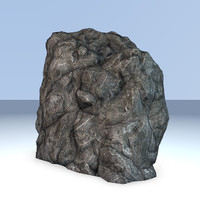 3d rock formation