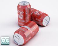 3d model cola