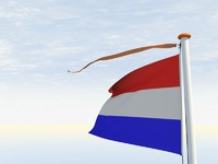 c4d flag pole vane