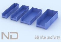 3d model of solidworks - flow boxes