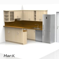 c4d kitchen