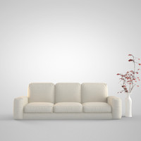 3d model sofa modeled