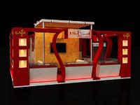 max stall design exhibition