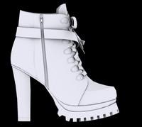martin boot 2013 3d model
