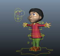 3d model cartoon