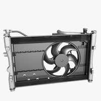 3d engine fan cooling