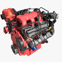 Car V6 Engine