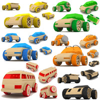 maya wooden toy cars
