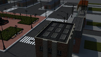 city block fbx