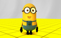despicable 2 minion 3d model