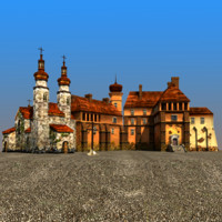 castle church 3d model