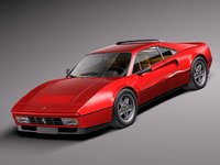 classic antique 1989 sport 3d model
