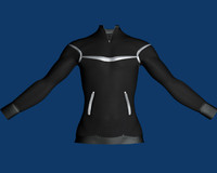 3d male pullover model