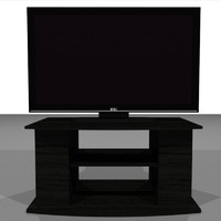 3d television hd model