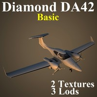 max diamond da42 basic airplane