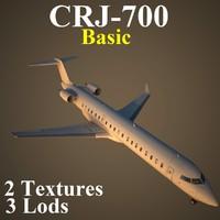 3d regional jet basic model