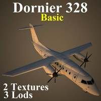 3d dornier 328 basic