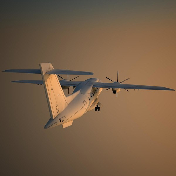 Used Turboprop: 3d Dornier 328 Basic