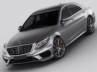 3ds max mercedes s s63