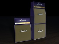 3d marshall stack purple