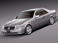 Mercedes-Benz CL500 C140 1993-1998