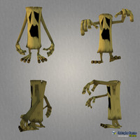 3d model character treemonster 2011