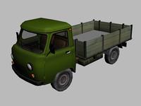 3d uaz 3303 model