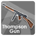 smax thompson submachine gun weapon