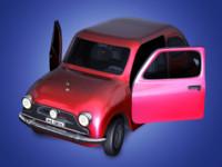 funny car 3d 3ds