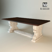 jamaica dining table 3d model