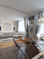 3d interior modern apartment