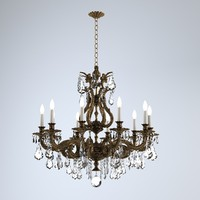 3d model of schonbek sophia chandelier
