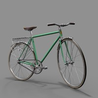 3d model of urban bike