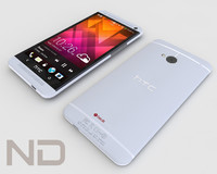 htc phone smartphone 3d model