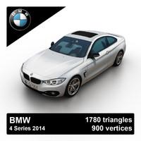 3d model 2014 bmw 4 series