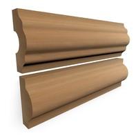 baseboards 3d model